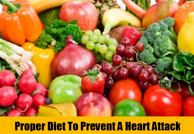 Proper Diet To Prevent A Heart Attack