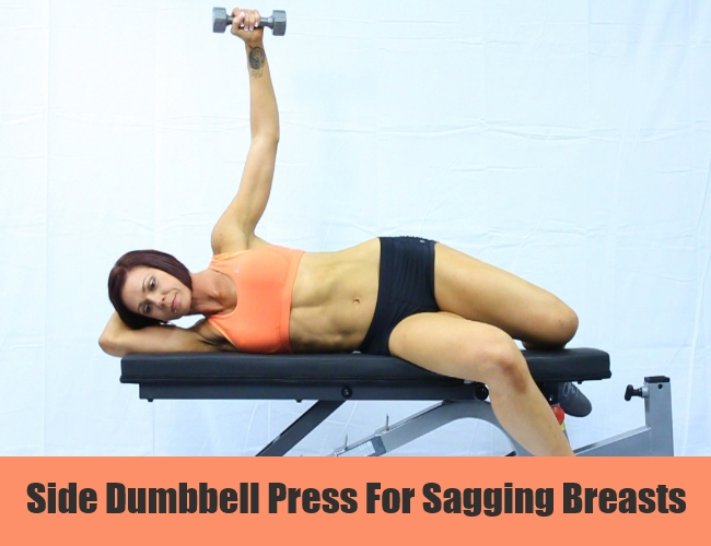 Side Dumbbell Press For Sagging Breasts