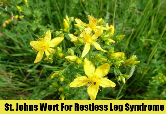 St. Johns Wort For Restless Leg Syndrome