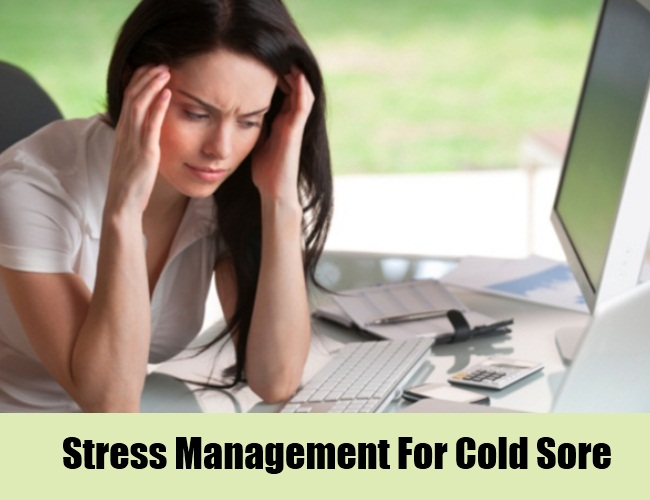 Stress Management For Cold Sore