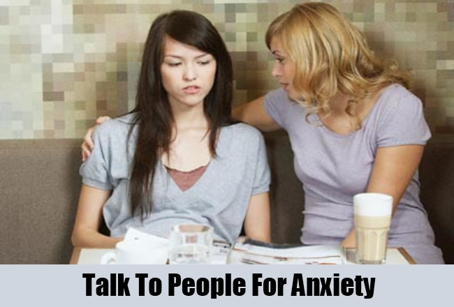 Talk To People For Anxiety