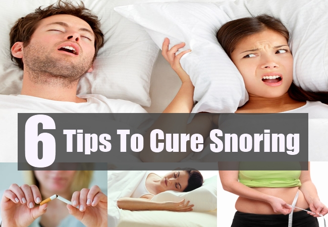 Tips To Cure Snoring