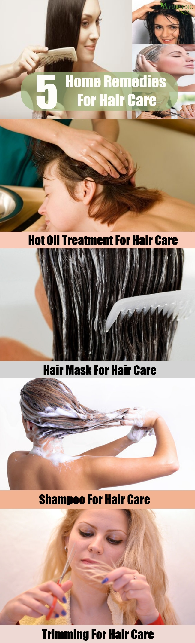 Top Home Remedies For Hair Care