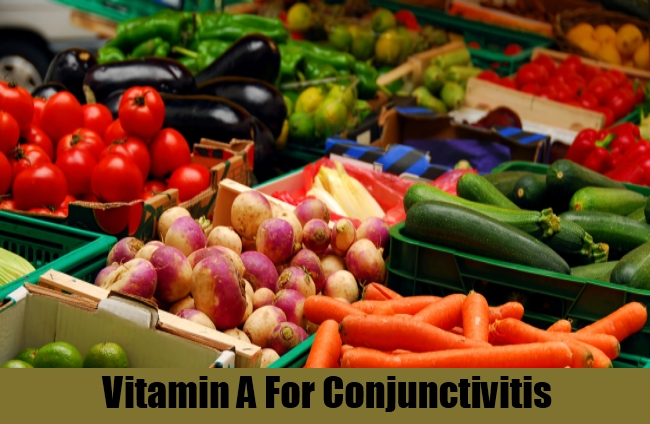 Vitamin A For Conjunctivitis