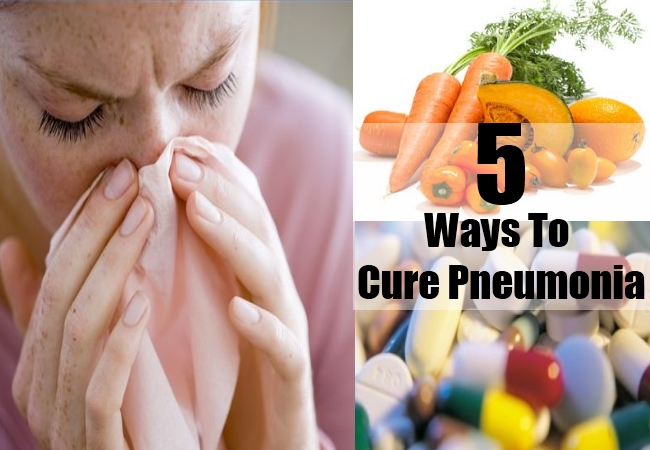 Ways To Cure Pneumonia