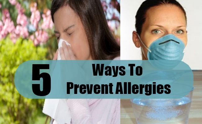 Ways To Prevent Allergies