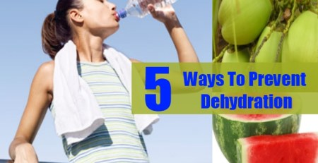 Ways To Prevent Dehydration