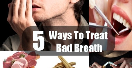 Ways To Treat Bad Breath