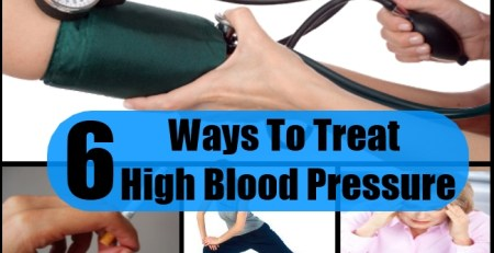 Ways To Treat High Blood Pressure