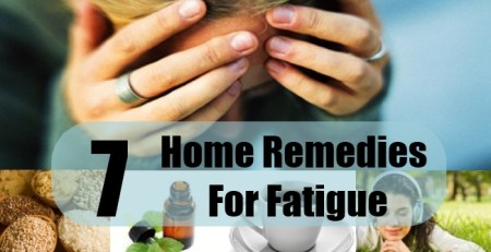 7 Home Remedies For Fatigue