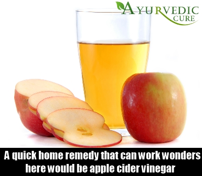 Apple Cider Vinegar.
