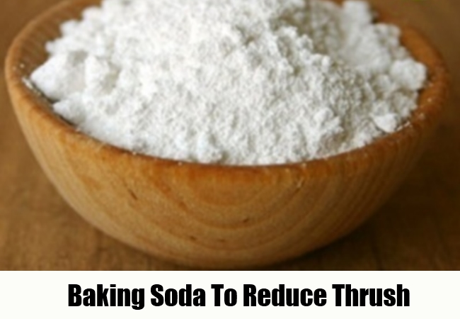 Baking Soda To Reduce Thrush