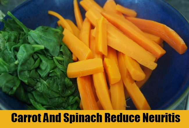 Carrot And Spinach Reduce Neuritis