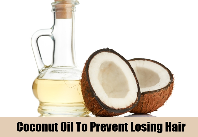 Coconut Oil To Prevent Losing Hair