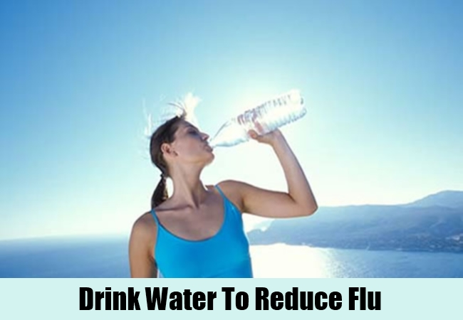 Drink Water To Reduce Flu