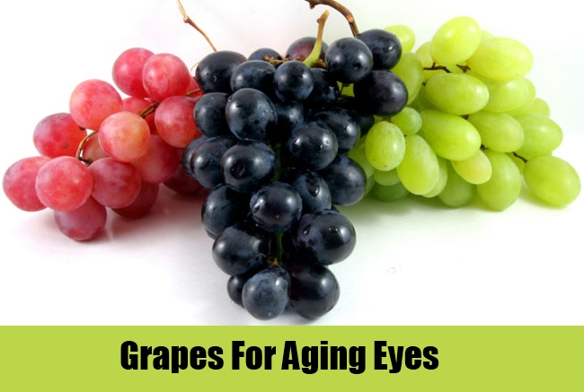 Grapes For Aging Eyes