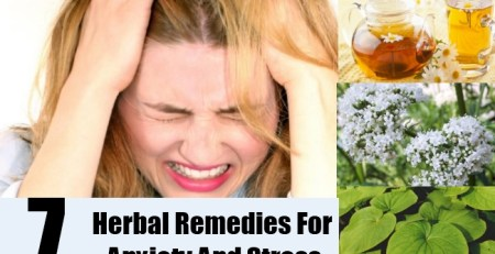 Herbal Remedies For Anxiety And Stress