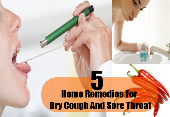 Home Remedies For Dry Cough And Sore Throat
