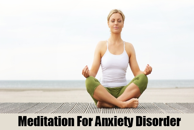 Meditation For Anxiety Disorder