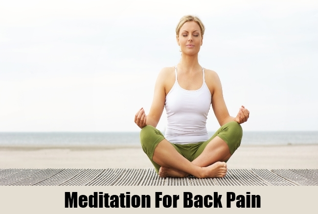 Meditation For Back Pain