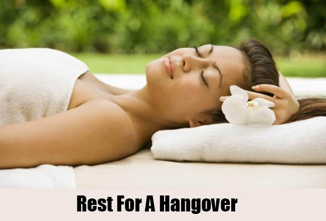 Rest For A Hangover