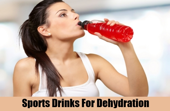 Sports Drinks For Dehydration