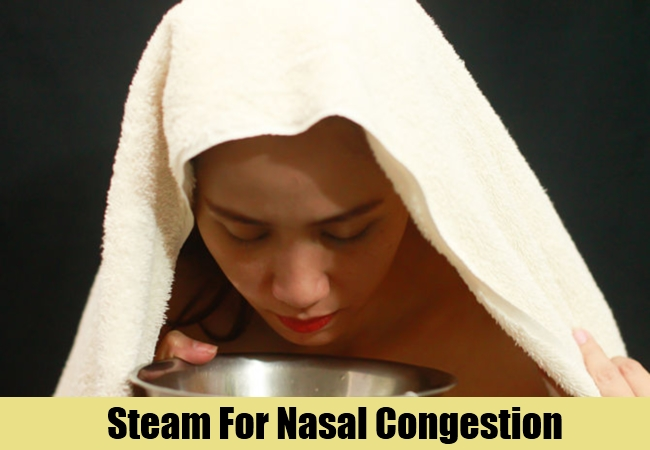 Steam For Nasal Congestion