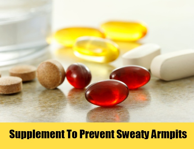 how to stop sweating armpits quick
