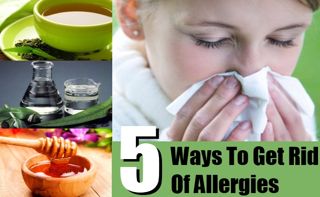 Ways To Get Rid Of Allergies