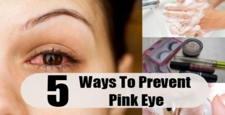 Ways To Prevent Pink Eye