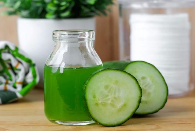 Apply Cucumber Juice