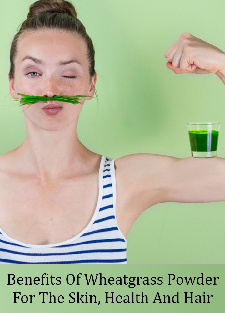 Wheatgrass Powder For The Skin, Health And Hair