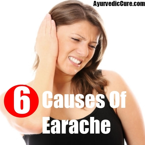 6 Causes Of Earache