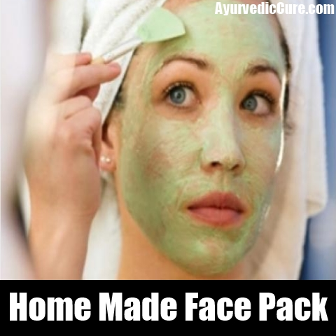 Home Made Face Pack