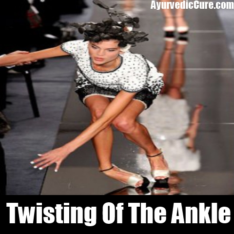 Twisting Of The Ankle