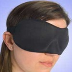 Wear a Sleep Mask