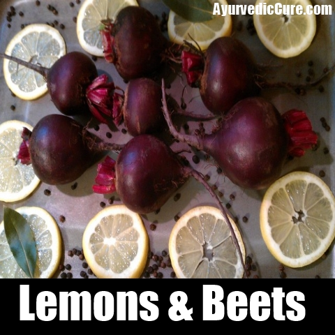 lemon beet ginger