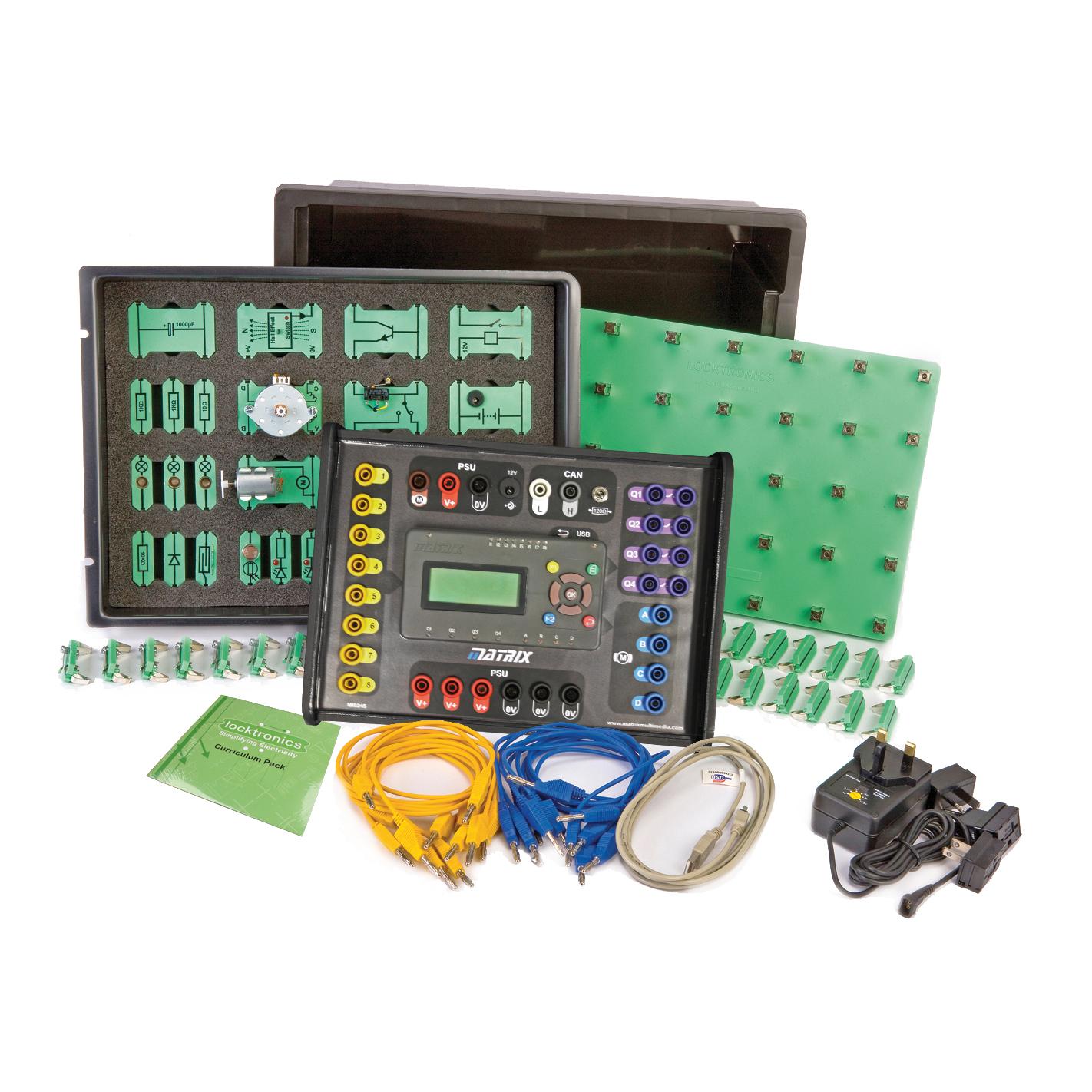 Matrix Sensors And Control In Automotive Applications