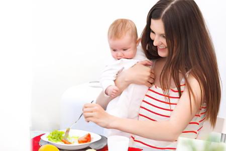 母乳育児できゅうりがあることは可能ですか