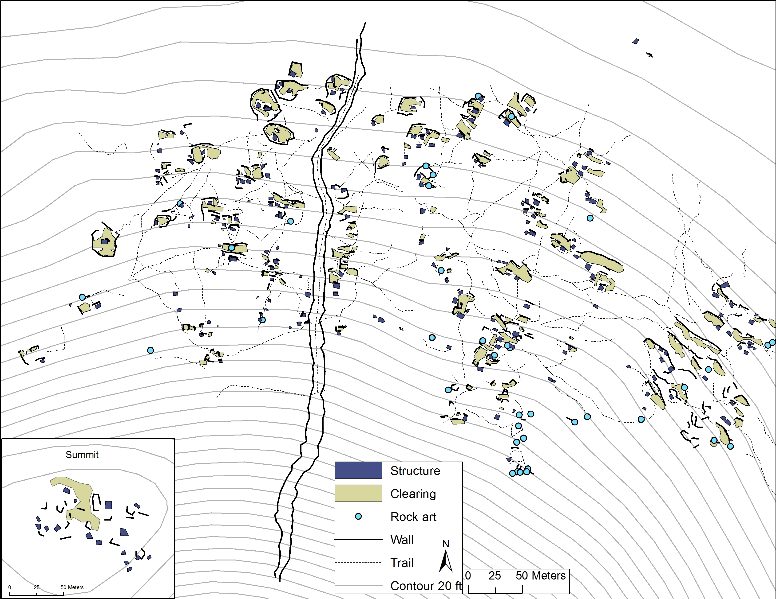Cerro Prieto Trincheras Site » Arizona Archaeological and
