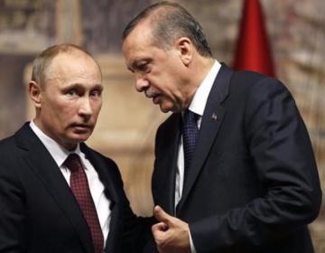 Ərdoğan və Putin arasında telefon danışığı olub