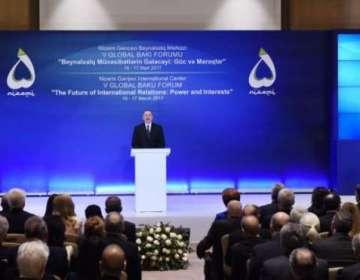 """Prezident: """"Status-kvonun dəyişməsi Azərbaycan torpaqlarının işğaldan azad edilməsi deməkdir"""""""