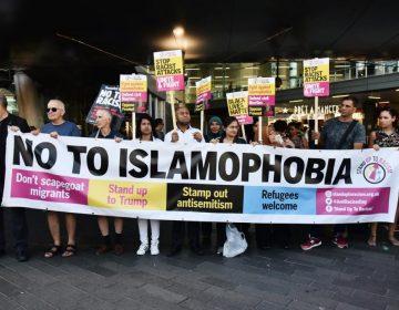 Londonda islamafobiaya qarşı etiraz