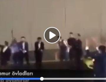 Məmur övladları Bakıda tuneli bağlayıb əyləndilər – VİDEO