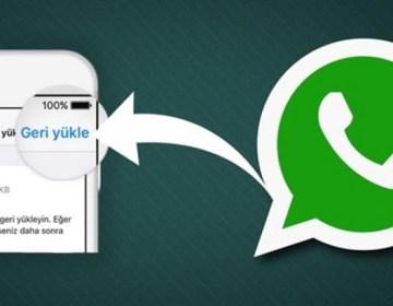 WhatsApp-da silinmiş mesajları geri qaytarmaq yolu açıqlandı