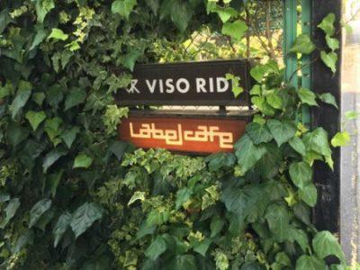 レーベルカフェ入口