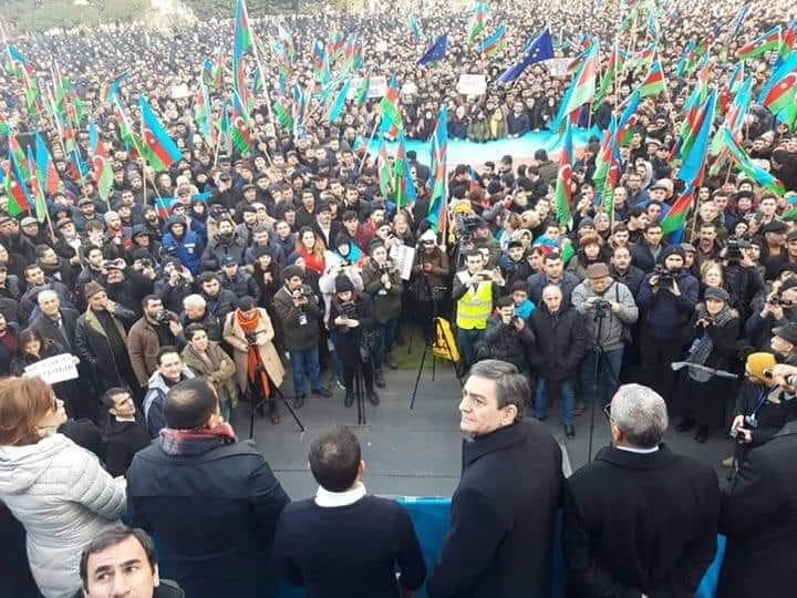 Milli Şura növbəti mitinq üçün müraciət etdi – 23 fevral, saat 15:00