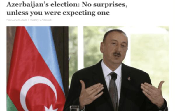 Əliyev rejiminə kimsə inanmır