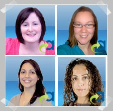 Sinead Hernen, Karen Clayton, Louise Goldstein and Yagmur Guven: Shortlisted for Affiliate Management Agency of 2009 Award
