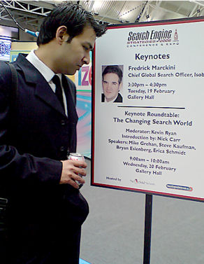 Ather Mehdi of Azam Marketing studies the agenda for SES London in February 2008